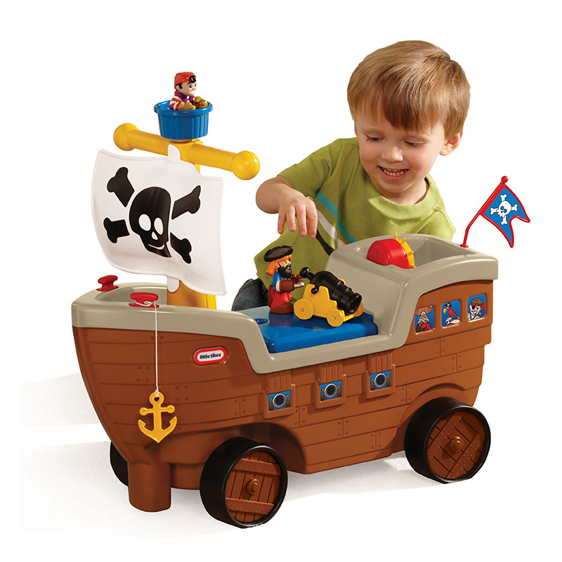 Little Tikes (小泰克) 婴儿玩具:游戏车海盗船