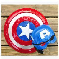 复仇者联盟玩具钢铁侠面具美国队长盾牌武器绿巨人盔甲蜘蛛侠面具