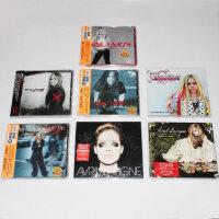 Avril Lavigne艾薇儿全套专辑 同名专辑/展翅高飞/单曲7CD DVD