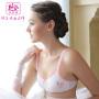 依曼丽新品薄款无钢圈少女运动文胸舒适棉围内衣YA4129