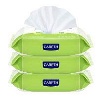 【当当自营】新日化三零婴儿橄榄滋养卫生湿巾80×3包 宝宝湿纸巾