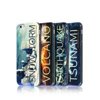 【包邮】Remax 新款iphone 6plus手机壳硅胶保护套 浮雕彩绘 硅胶软壳