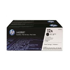 【当当自营】HP 惠普LaserJet Q2612AF 双包硒鼓套装