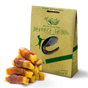 耐威克 宠物零食 100g鸭肉缠红薯条 狗狗 磨牙零食 训练零食