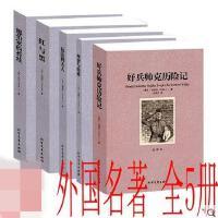 世界名著全5册 红与黑 包法利夫人 理智与情感 德伯家的苔丝 好兵帅克历险记 全译本 中文版 套装全5册 全新