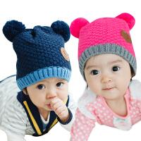 韩国kk树新生儿套头帽婴儿帽子1-2岁小孩6-12个月宝宝胎帽秋冬款