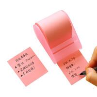 爱好 66710胶带卷纸式便利贴 (长8m宽5cm)颜色随机彩色胶带便条纸N次贴留言贴留言条随意贴百事贴提示告示贴 当当自营