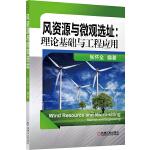 风资源与微观选址:理论基础与工程应用(来源于作者的实际工作,并与国际前沿接轨。)