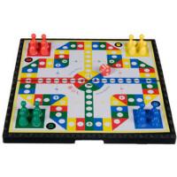 宝宝儿童游戏便携飞行棋 磁性折叠先行者飞行棋 益智豪华版D-6棋