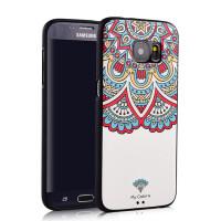 三星S7手机壳G9300硅胶浮雕保护套Galaxy全包软防摔韩国潮男卡通三星s7edge手机壳G935a手机套浮雕软壳 G9350硅胶防摔保护套