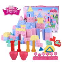 迪士尼3D打印泥模具套装公主城堡打印机橡皮泥彩泥女孩积木玩具