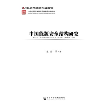 中国能源安全结构研究9787509766934(史丹)