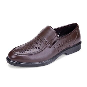 红蜻蜓 商务舒适 男凉鞋WTL58601/02