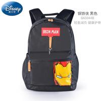 迪士尼小学生书包男童3-5-6年级休闲包美国队长钢铁侠儿童双肩包BA5044B 当当自营