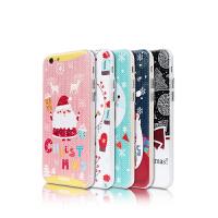 【包邮】Remax iPhone6plus圣诞节手机壳苹果6P保护套圣诞老人软壳5.5礼物