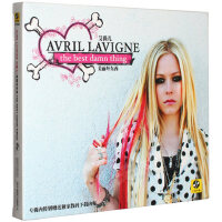 Avril艾薇儿 美丽坏东西the best damn thing CD 歌词本 正版专辑