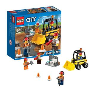 [当当自营]LEGO 乐高 CITY城市系列 城市建筑工程入门套装 积木拼插儿童益智玩具 60072