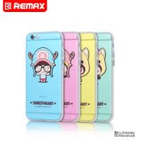 【包邮】Remax iphone 6plus 手机壳 可爱卡通苹果I6S硅胶保护套女5.5