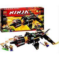 欢乐童年 博乐高Ninjago幻影忍者70747忍者8连发战斗机拼装积木玩具10322
