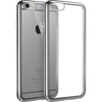 【当当自营】 ESR亿色 iPhone6/6s手机壳 电镀边框软壳 初色晶耀系列 深空灰