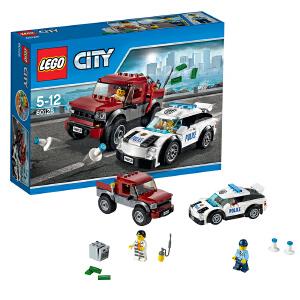 [当当自营]LEGO 乐高 城市系列 警察追踪 积木拼插儿童益智玩具 60128