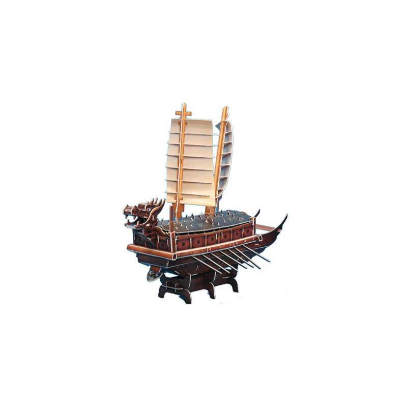 废品手工制作龙船