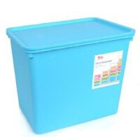 洛可可 5202 收纳箱 百纳箱 整理储物箱 收纳盒 有盖 塑料文具箱工具箱