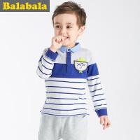 巴拉巴拉童装儿童男童长袖T恤小童宝宝上衣春装T恤男