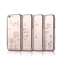 【包邮】Remax 晶钻iPhone 6plus 施华洛世奇彩钻手机壳 5.5透明保护硬套