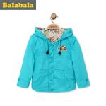 巴拉巴拉童装男童外套小童宝宝纯棉上衣春装儿童短款休闲外套