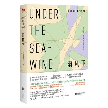 正版 海风下 普通读者海 洋生物 科普读物爱好者 青少年 艺术  哲学 海的边缘 北京联合出版公司