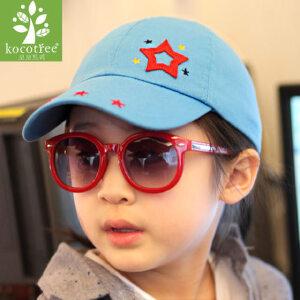 男女儿童帽子春秋小孩帽子鸭舌帽棒球帽2-4-8岁宝宝帽子春秋潮韩