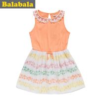 巴拉巴拉女幼童宝宝 连衣裙  夏装 童装
