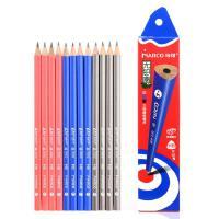马可9002铅笔 马克三角铅笔易握正姿 木杆安全无毒 学生专用铅笔 HB