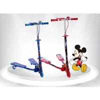 2016新品迪士尼儿童滑板车童车三轮蛙式滑板车剪刀车3轮宝宝滑板车2-6-7岁