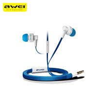 【正品包邮】Awei/用维 700i耳机入耳式金属重低音面条小米苹果手机通用