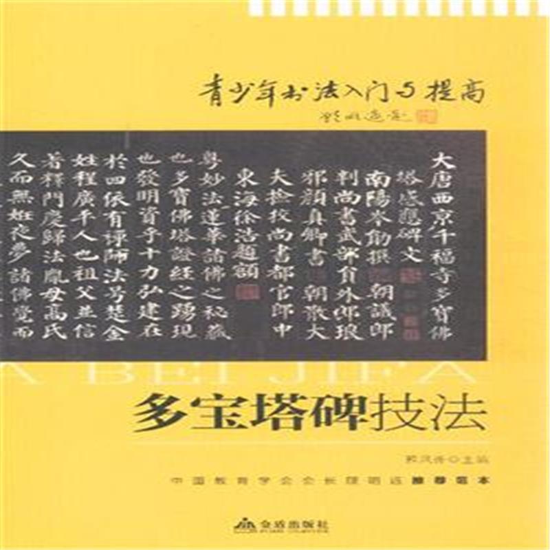 《多宝塔碑技法-青少年书法入门与提高9787508284071