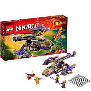 [当当自营]LEGO 乐高 NINJAGO幻影忍者系列 狂蟒掠夺者直升机 积木拼插儿童益智玩具 70746
