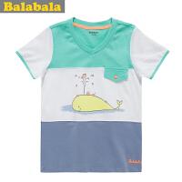 巴拉巴拉balabala男童卡通时尚短袖T恤夏装新款童装