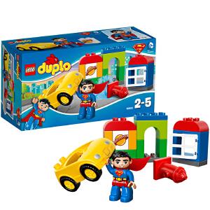 [当当自营]LEGO 乐高 duplo得宝系列 超人救援 积木拼插儿童益智玩具 10543