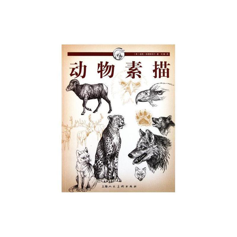 《动物素描/西方经典美术技法译丛