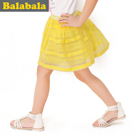 5.25抢购价:39元 巴拉巴拉童装女童公主风短裙中大童甜美半身裙夏装新款裙子