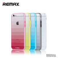【包邮】Remax  iPhone6手机壳 苹果6S软硅胶套 多彩透明保护套壳4.7
