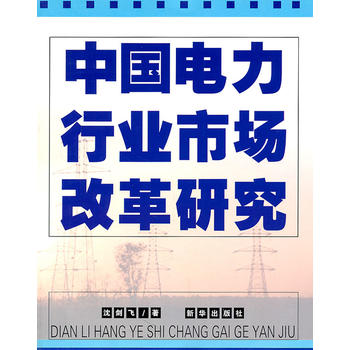 中国电力行业市场改革研究