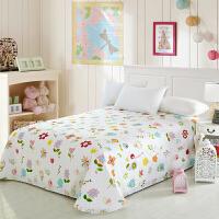 当当优品 纯棉斜纹印花床单人床单1.2米学生宿舍儿童床单 多花型可选 120*230cm