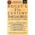 Rogets 21st Century Thesaurus罗杰斯21世纪辞典