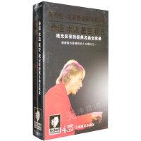 理查德克莱德曼经典钢琴曲全集4CD轻纯音乐正版车载cd光盘碟片