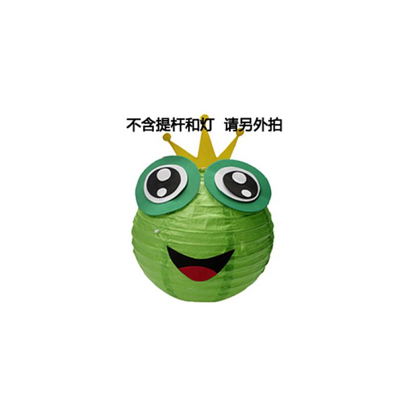 diy制作材料包手提万圣节纸灯笼批发幼儿园ef25663_青蛙