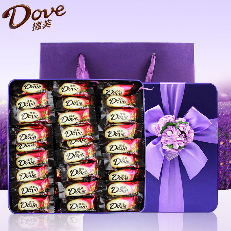 ove 德芙 巧克力礼盒diy3
