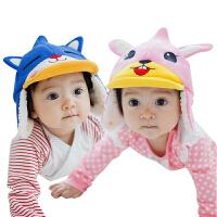 韩国KK树宝宝帽子婴儿男童女童新生儿儿童童帽秋冬款套头帽潮冬天